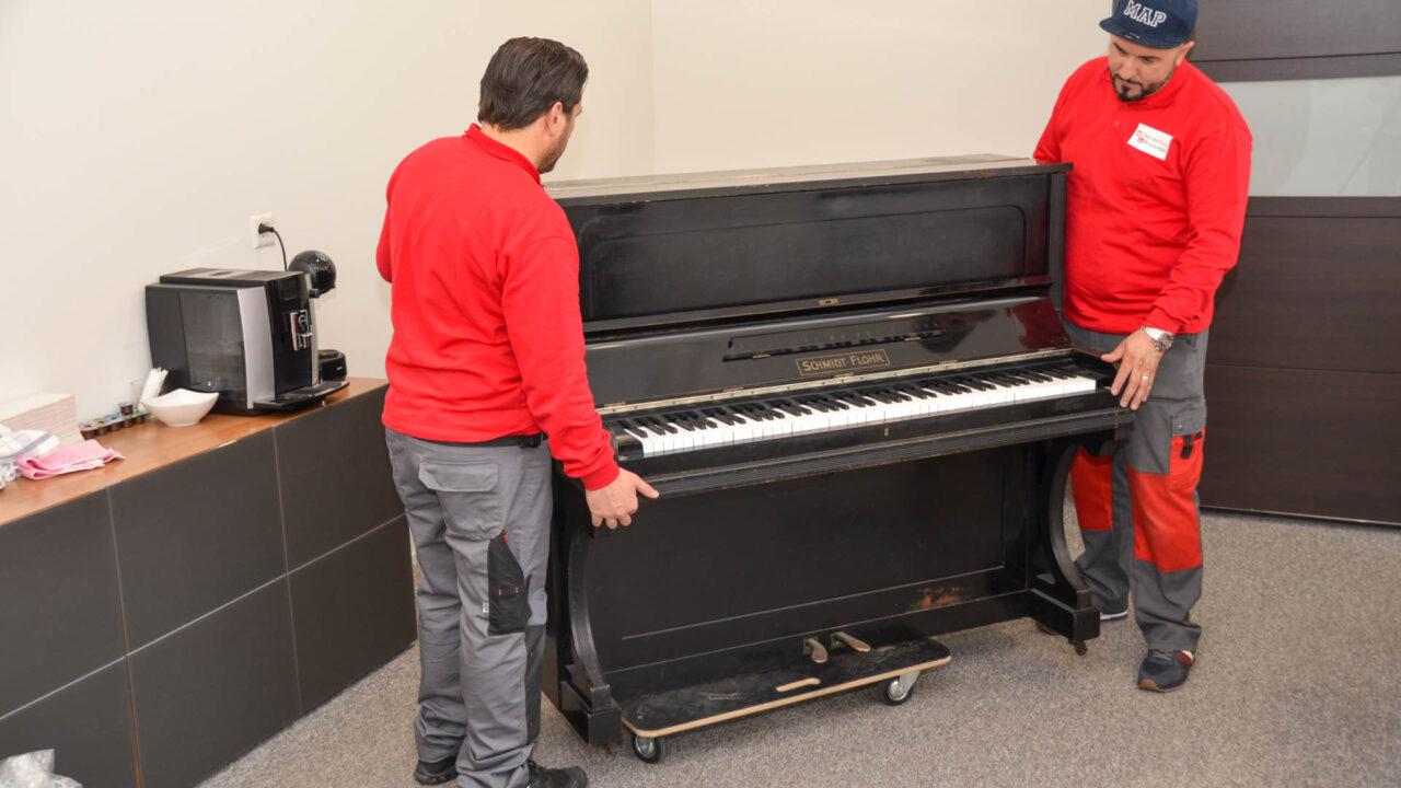 Klaviertransport - Umzugsteam