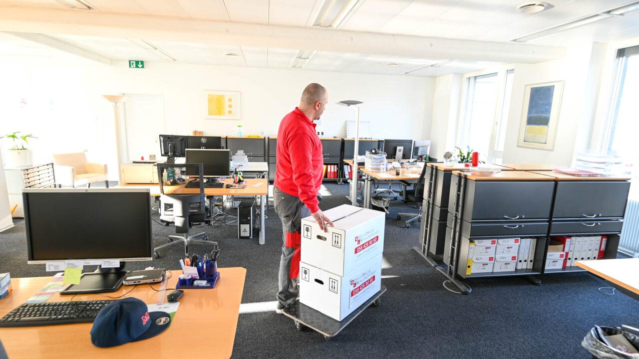 Umzug Aarau - Full Service vom Fachmann