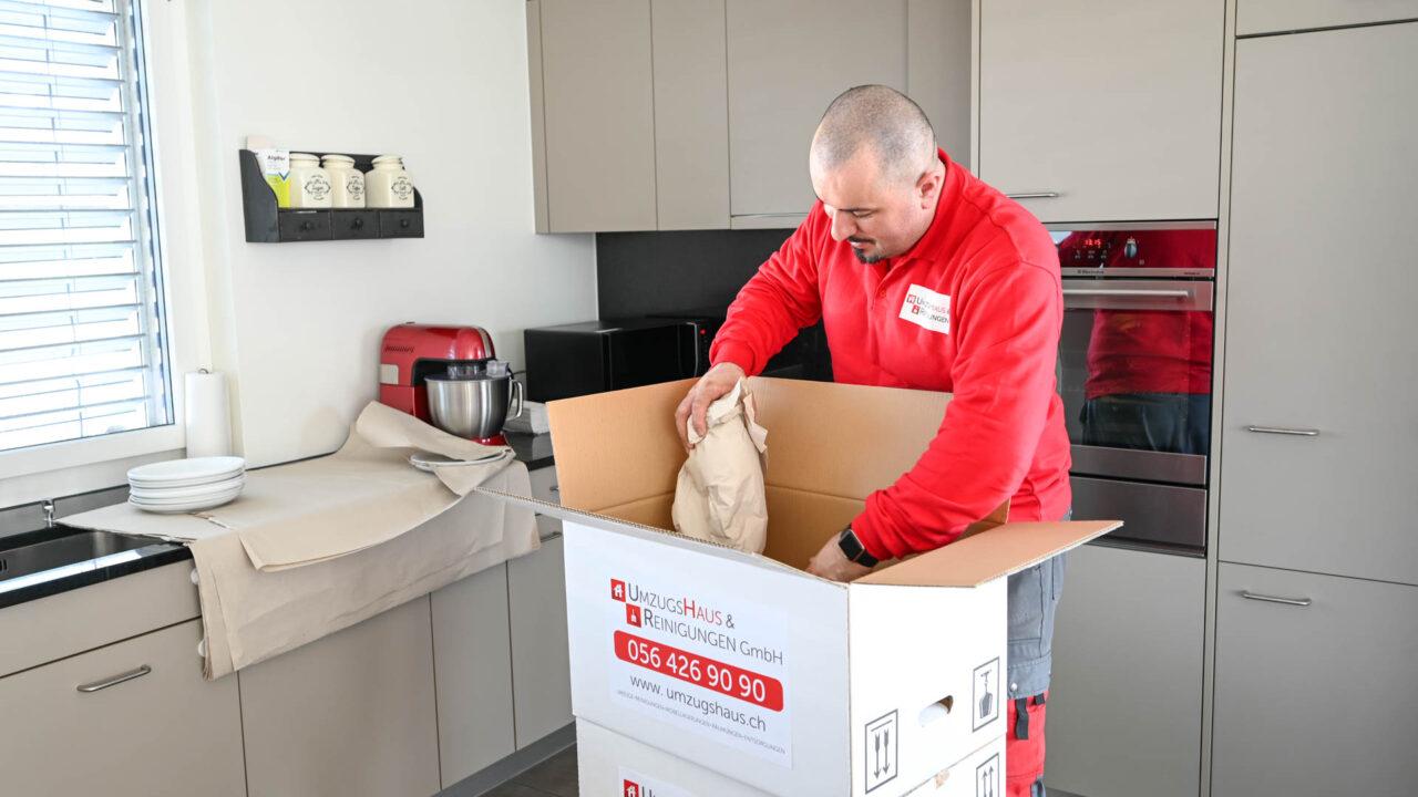 Umzug Wettingen - Wir organisieren das Verpackungsmaterial
